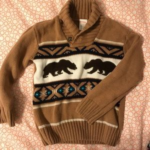 5 for $8 🍄Gymboree bear sweater